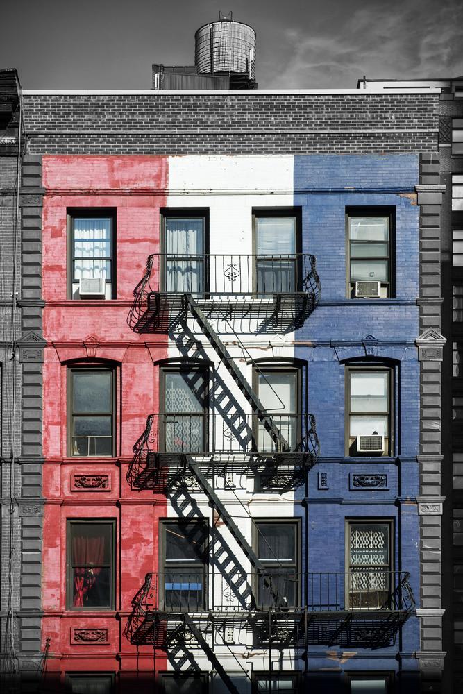 Photo in Cityscape #new york #fire escape