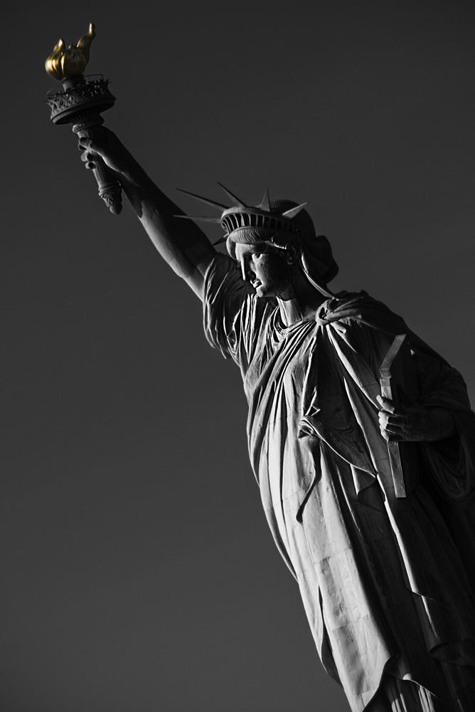 Photo in Black and White #liberty #new york