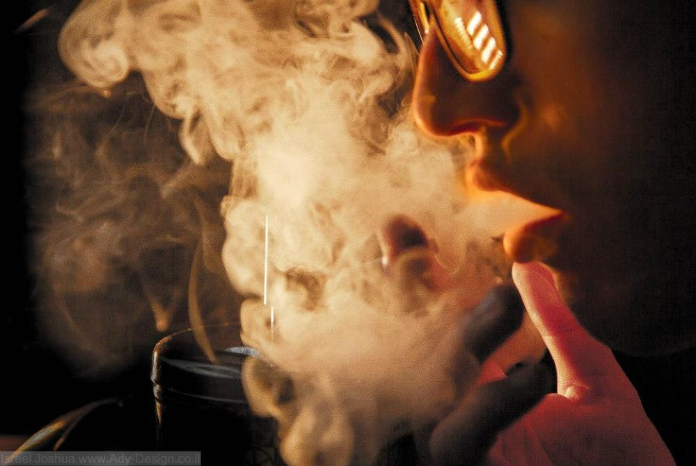 Smoke-Self Portrait by Swainuk