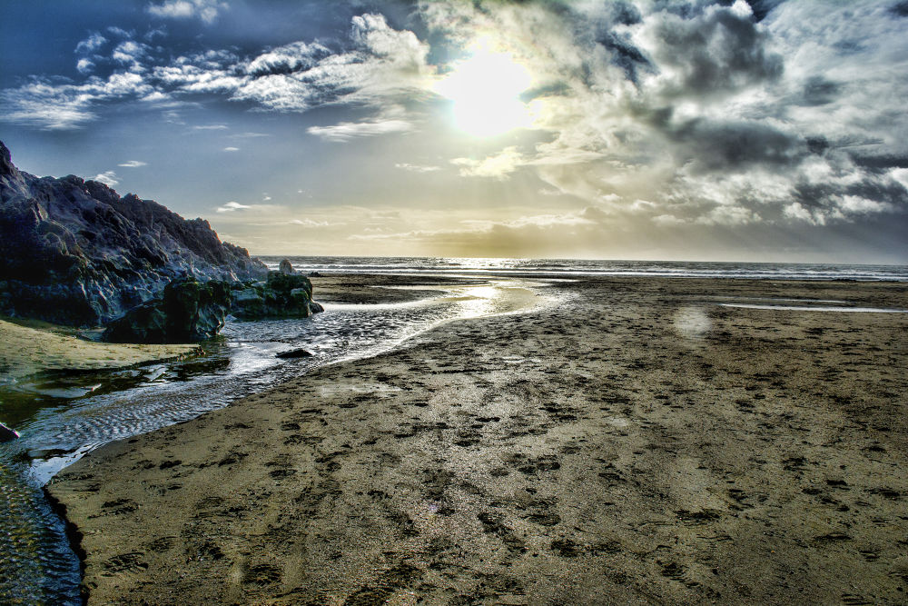 Caswell Bay, Swansea by Marc Greco