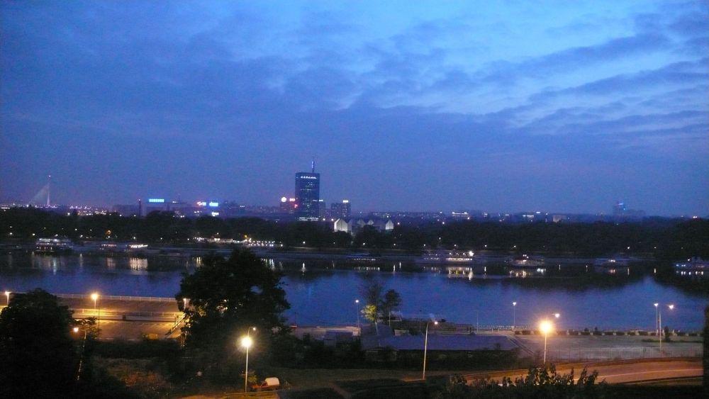 Danube Belgrade by Andonis Iliakis