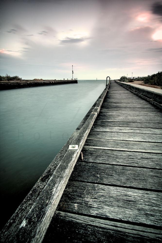 Mordialoc pier by Thomas Anderson