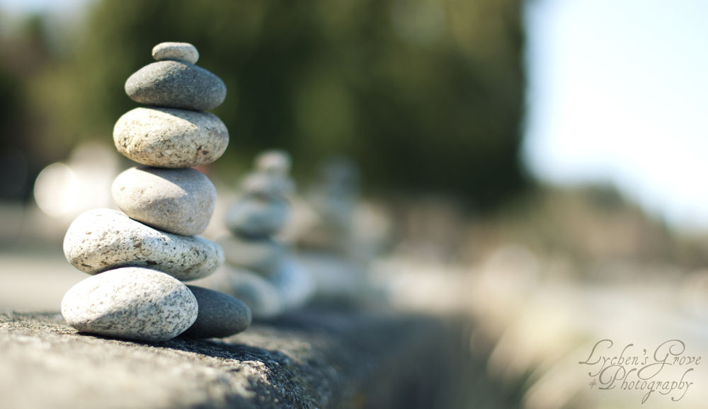 Stone guardians by Corrie Schurman
