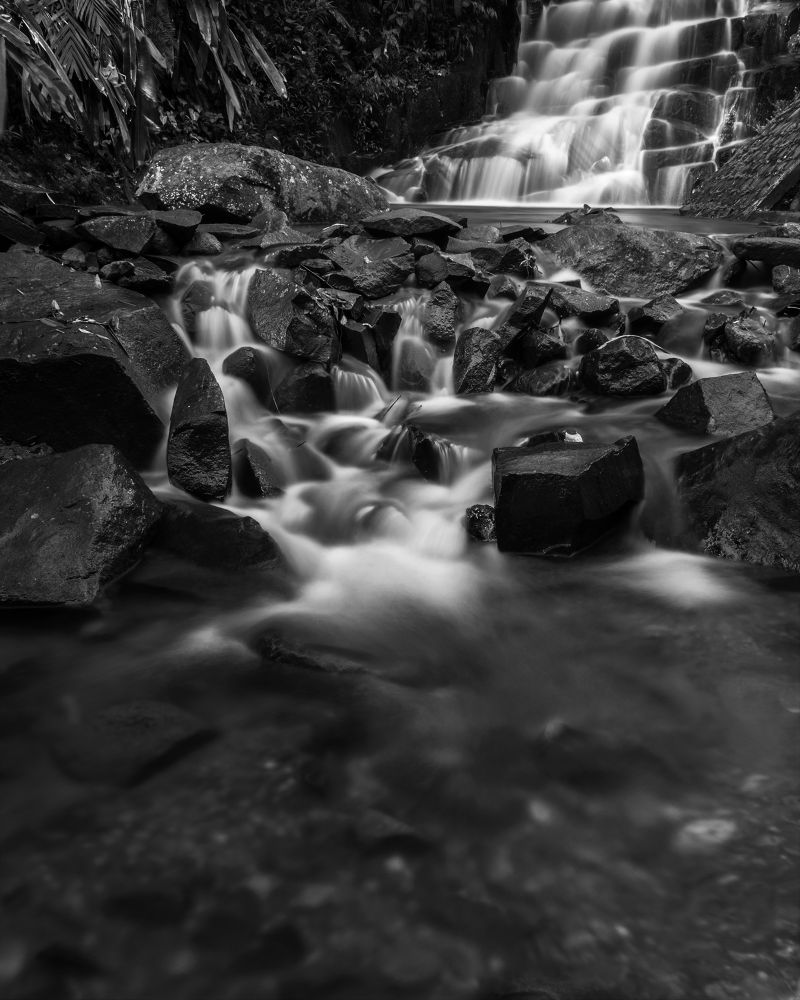 Tranquility in water which washed away.  by Dika yudha rio p