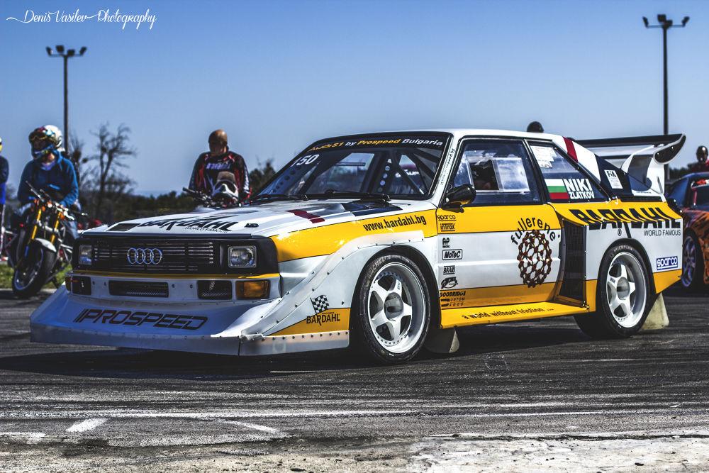 Audi quattro rally  by Denis Vasilev