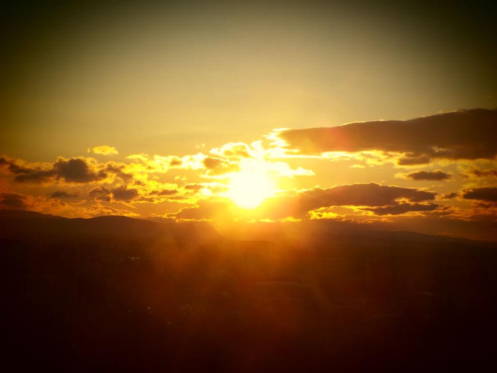 Here comes the sun  by Ani Elizbarashvili