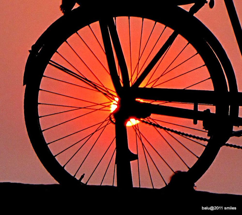 the art of sun set by balasubrahmanaya.k.s