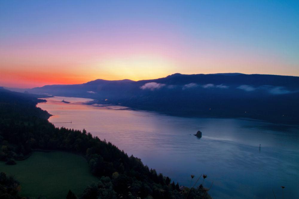 Early Morning Sunrise by Casey Bartel