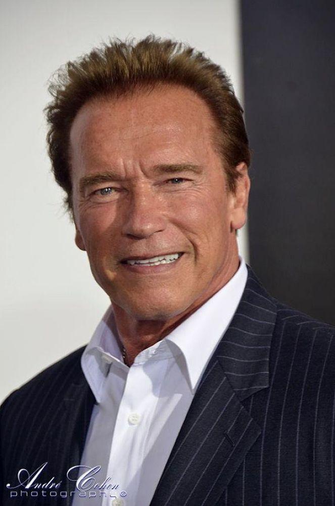 Arnold Schwarzenegger by Andre Cohen