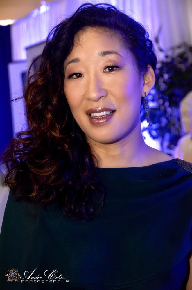 Sandra Oh - By Andre Cohen Photography © by Andre Cohen