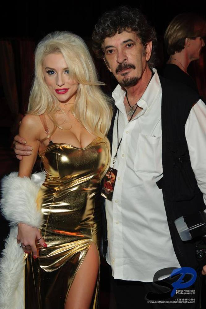 With Courtney Stodden by Andre Cohen