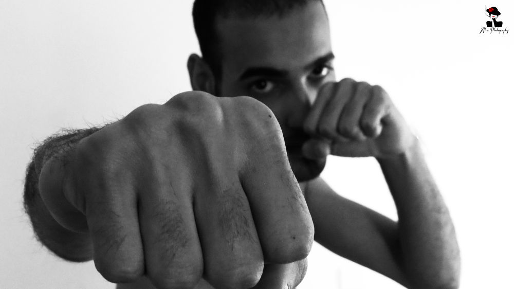 Boxer by Atefeh Mirzanajafi