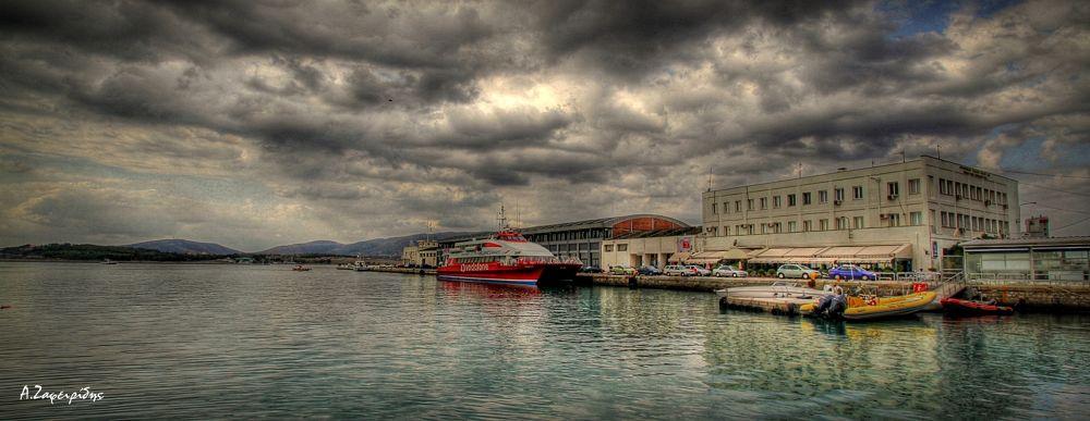 Port of Volos GREECE by aZafeiridis