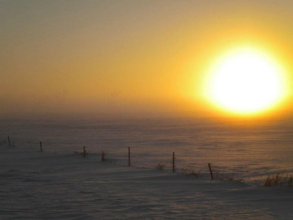 Winter sunrise  by Dalep2014