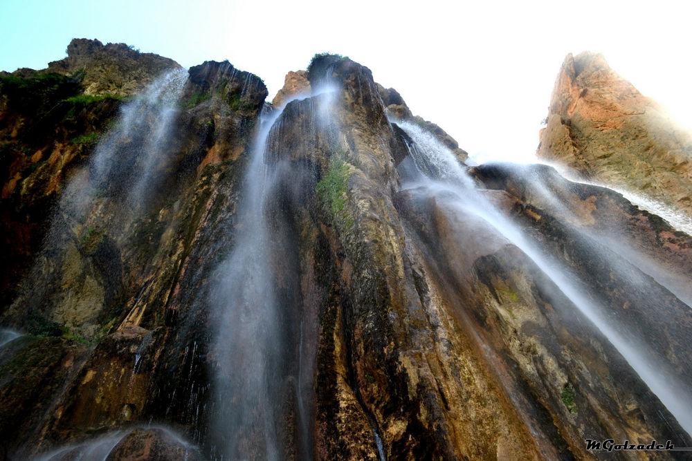 Margun waterfall by Mehdigol