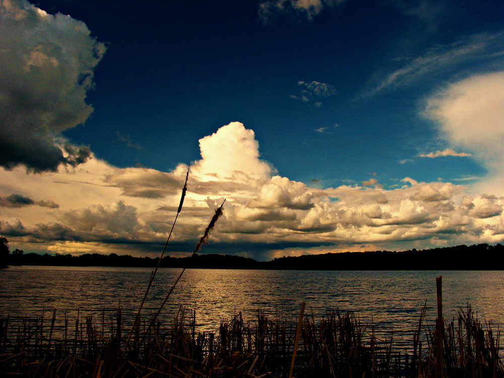 Clouds Over Parley Lake by chaaland