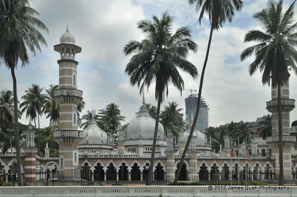 Masjid Jamek Malaysia by quahboonkong
