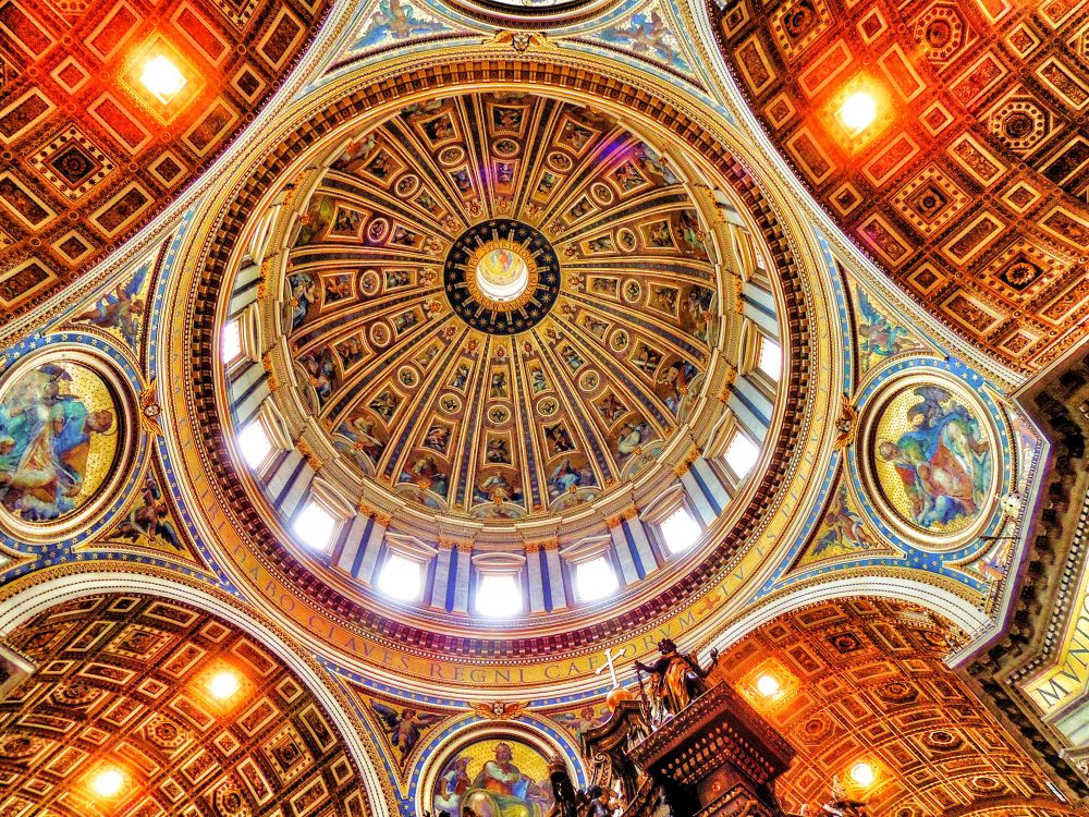 Dome of St. Peter's Basilica by SRRAVI