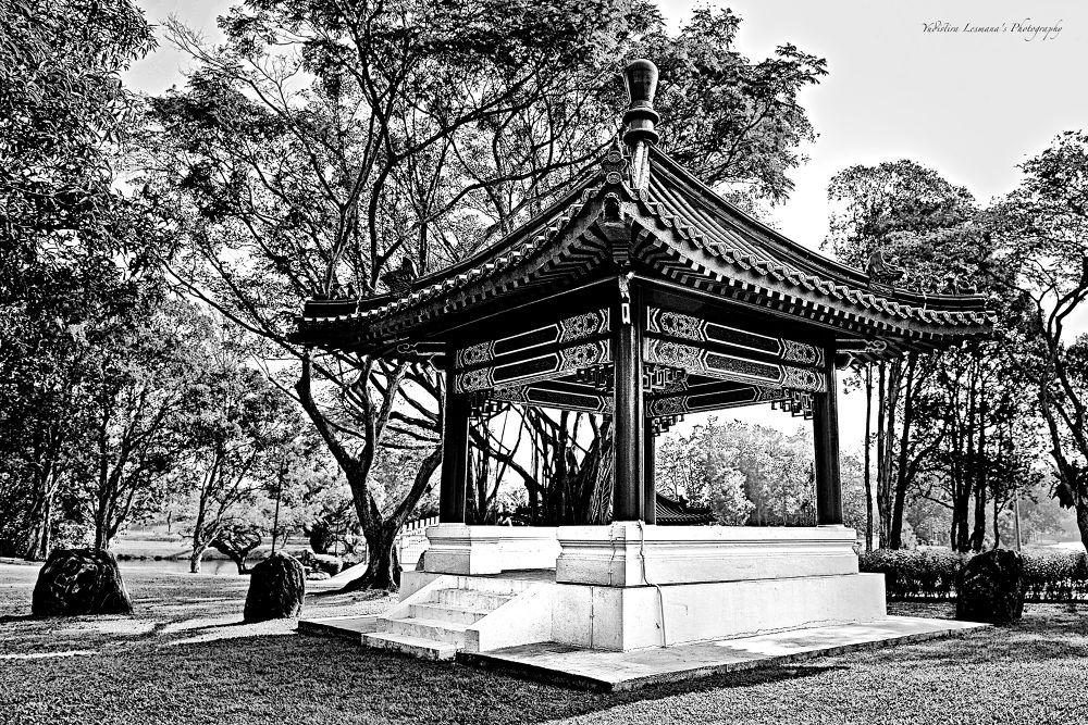 Rest Pavillion by ylesmana