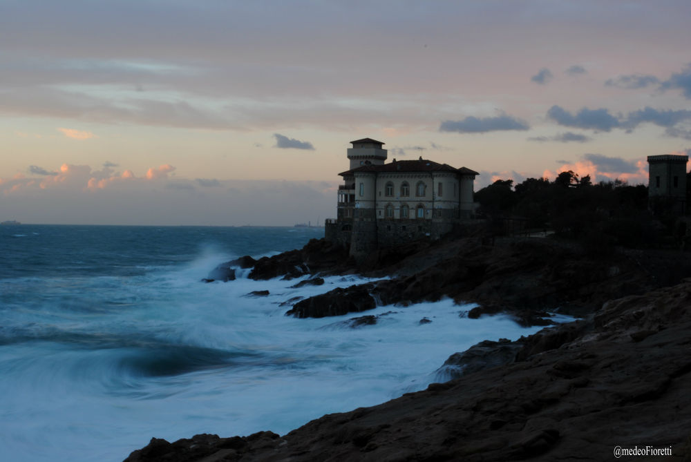 Photo in Random #toscana..tramonto...mare...tem