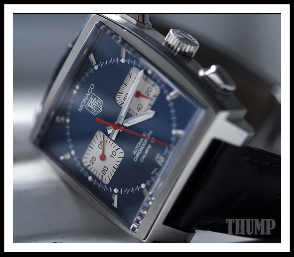 Tag Heuer Monaco Calibre 12 'Steve McQueen' by RobC