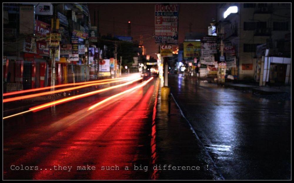 Boring road by chandan