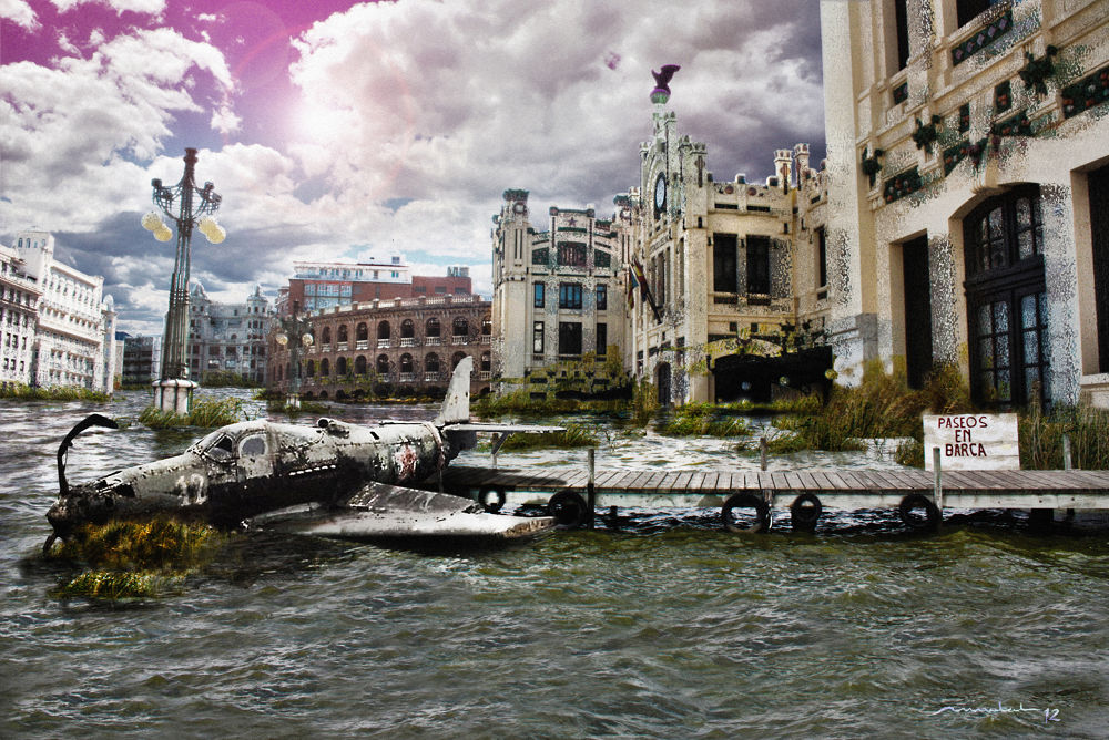 Photo in Abstract #fantasy #apocalypse #valencia #after war