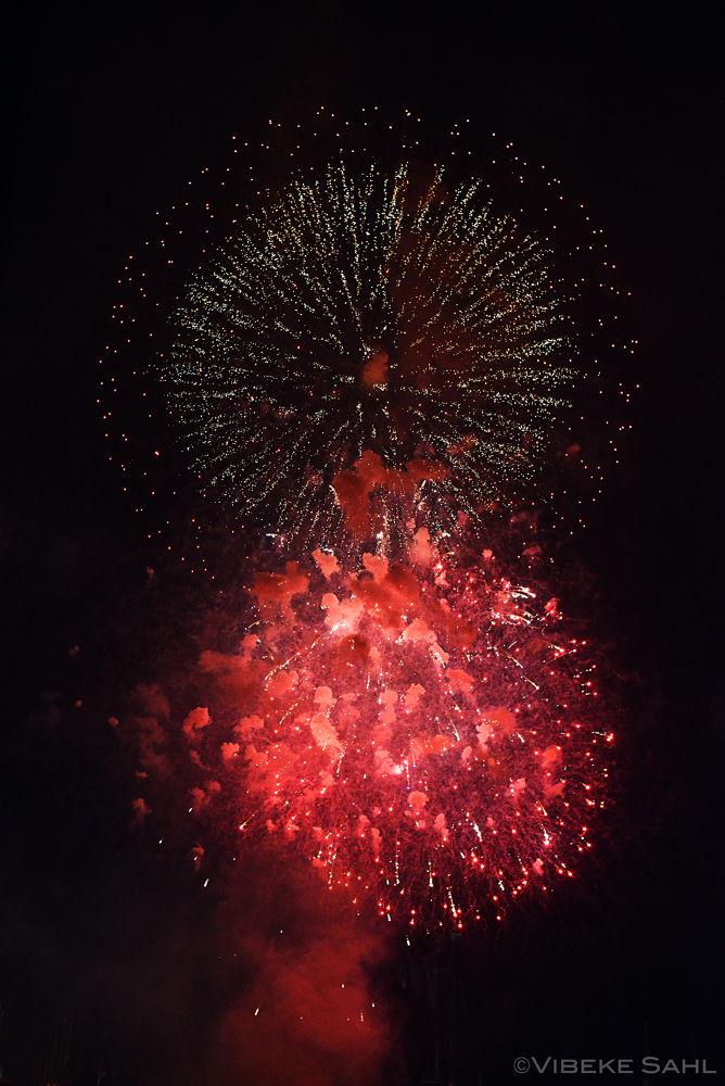 Fireworks by Vibeke