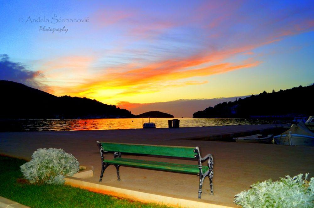 Vela Luka - Sunset by AngiePhotography