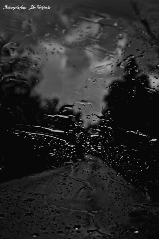 Everyone knows my way, but not my memories like the drops by S,J,V John Vasilopoulos
