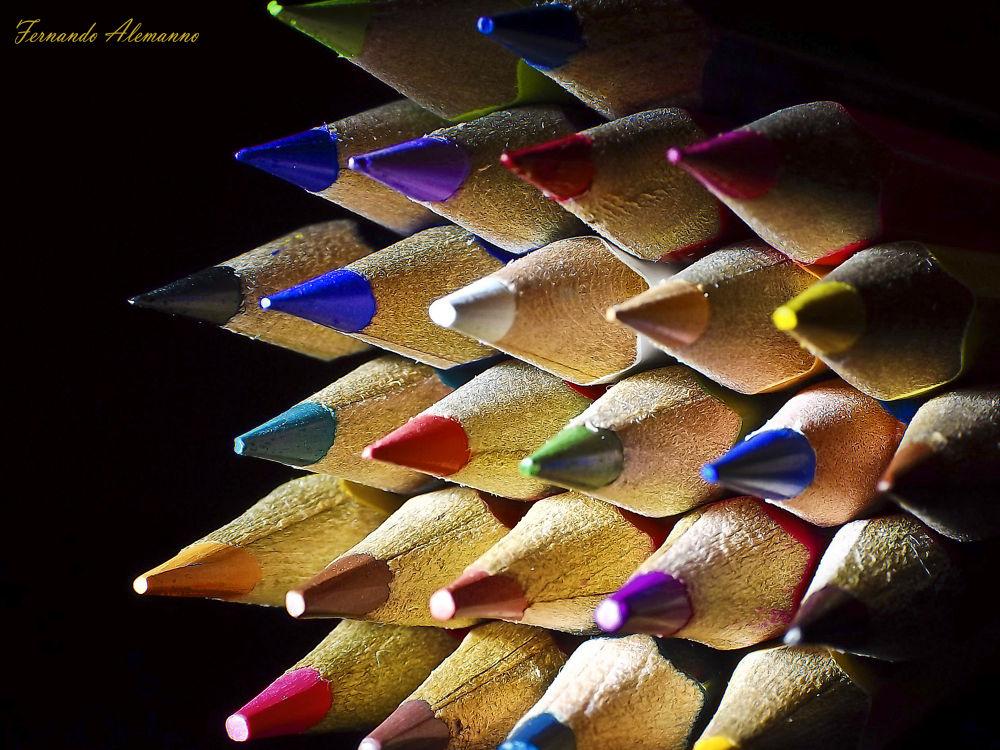matite colorate by fernanduk