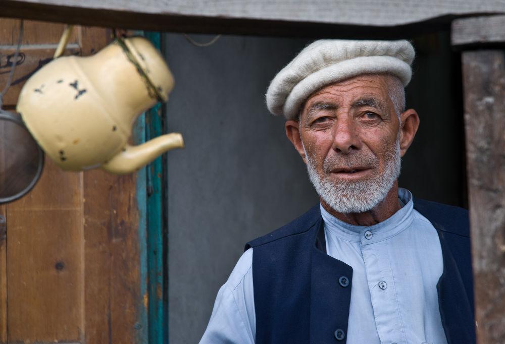 Man from Hunza valley, Pakistan by paveldobrovsky