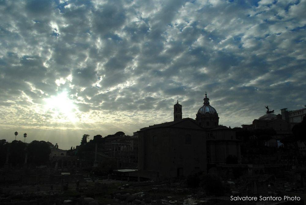 Sunset in Rome by salvatoresantoro37
