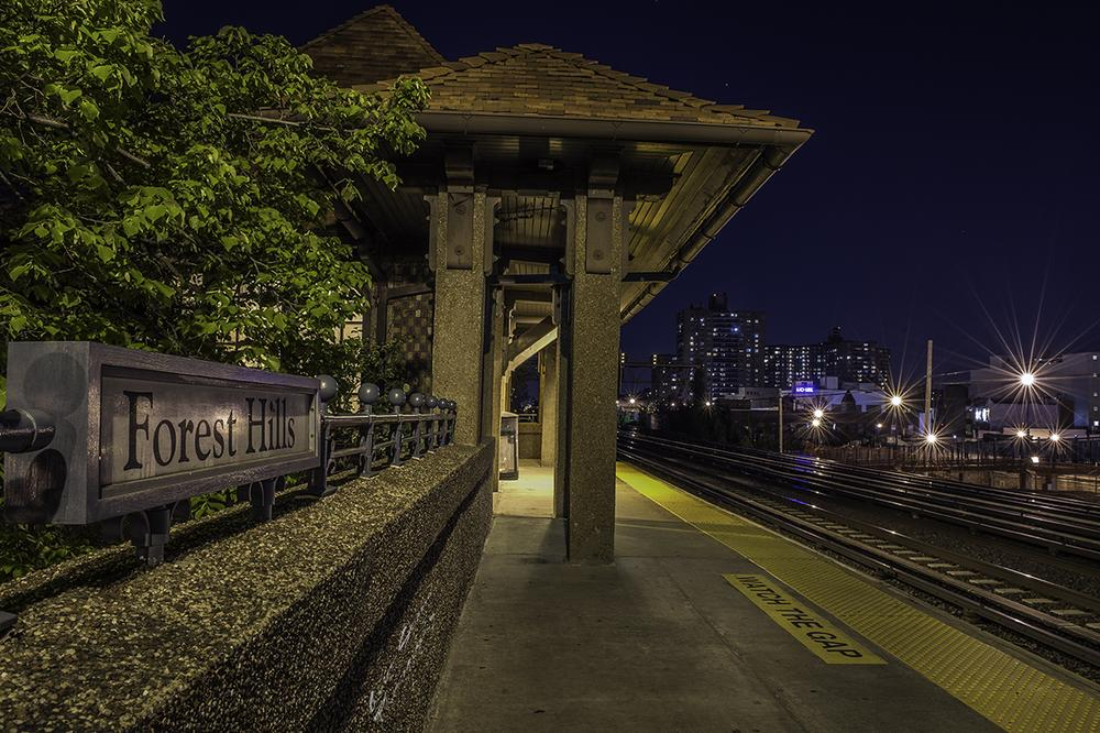 Photo in Cityscape #nikon d4 #nyc #new york #forest hills #night #night photography