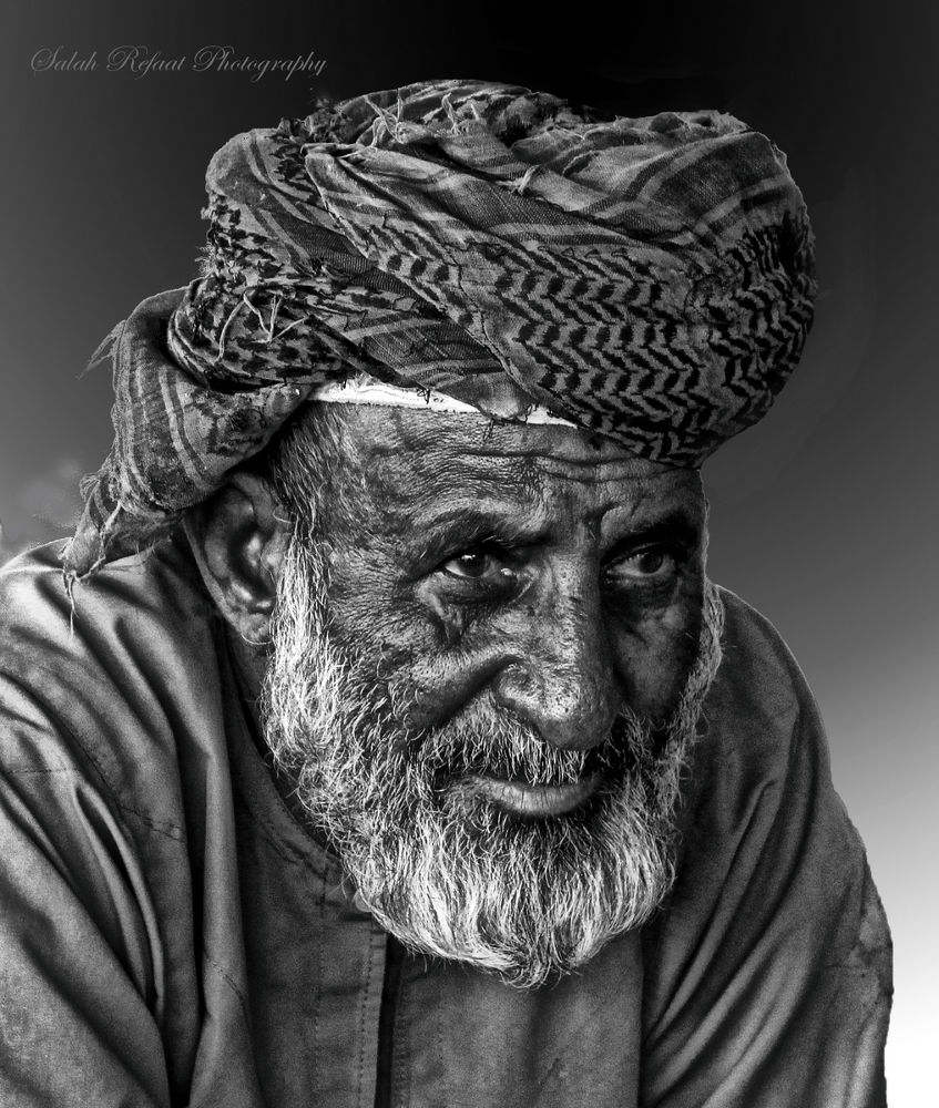 Just A Face  by Salah Refaat