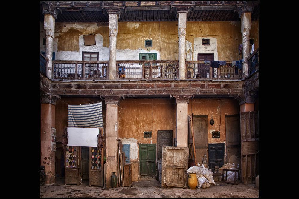 Photo in Cityscape #medina #marrakech #maroc #batiment #palais #ancien