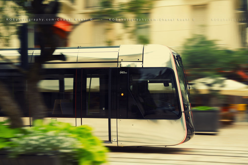 Photo in Cityscape #tramway #rue #caon 5d