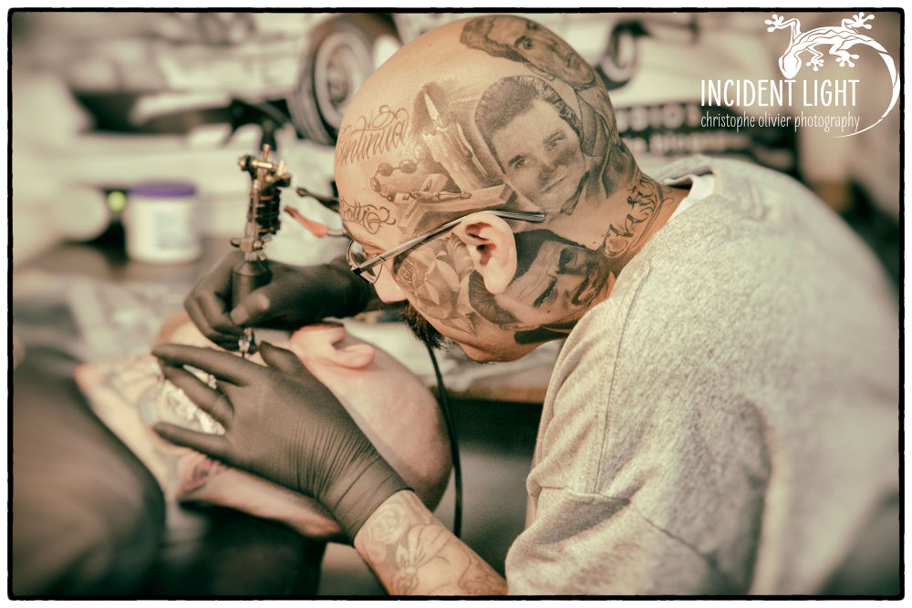 Tommy Cyklone Garcia @ Tattoo convention Hamme by christopheolivier73
