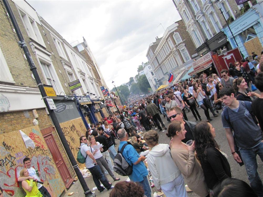 Photo in Random #london #gate #carnival #notting