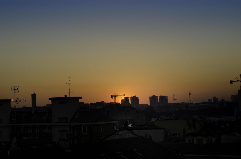 tramonto milano by mark82