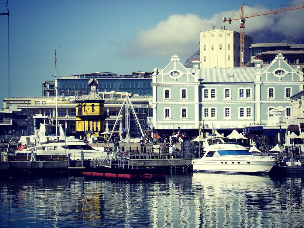 Cape Town Waterfront by Kay Farmer