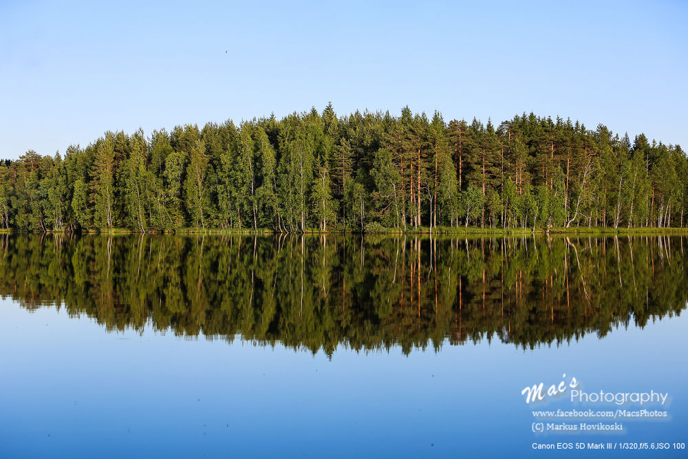 Landscape with reflection by Mac's Photography