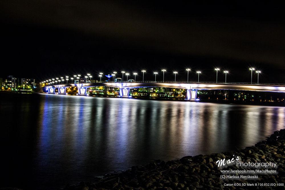 Bridge at night by Mac's Photography