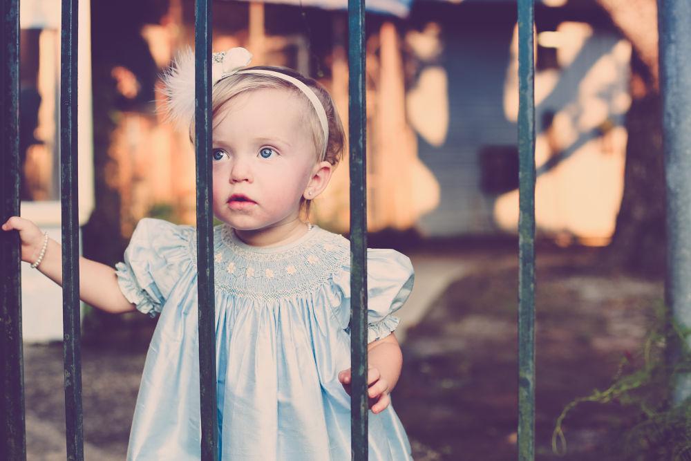 beautiful little girl by Elizabeth Regueira