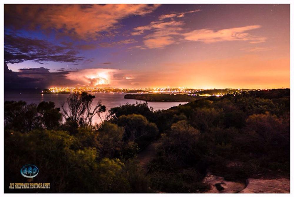 sunrise lightning by Jay Sheppard