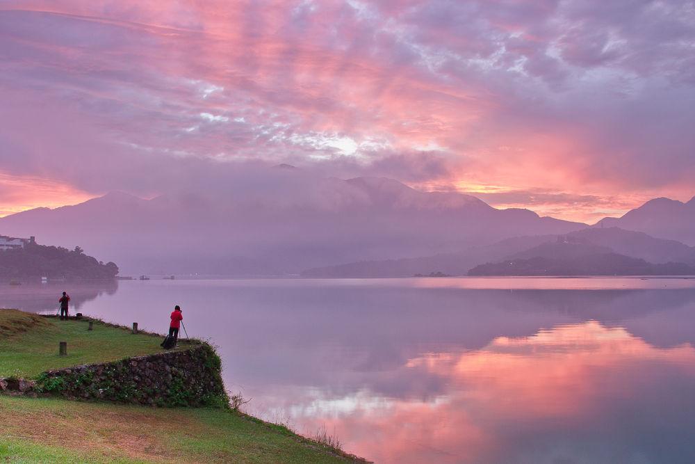 Taiwan-sun moon lake by dean720721