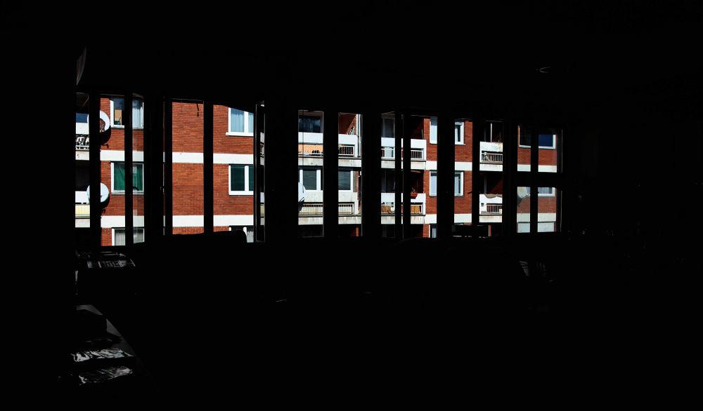 view through window by Damir Hujić
