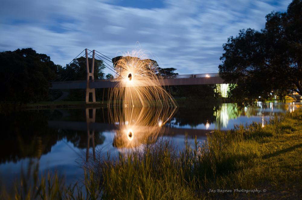 Barwon River Bridge  by Jay Baynes