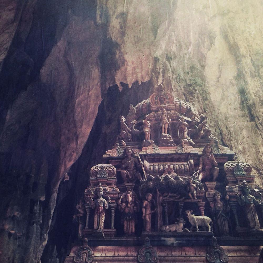 Batu Cave by Louise Bagger