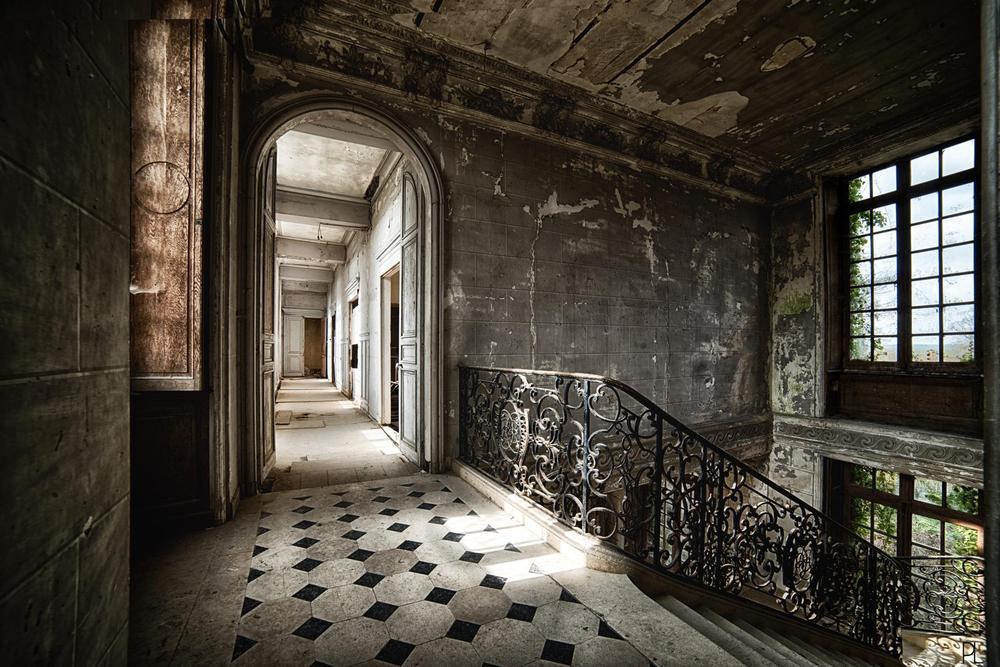 Photo in Urban #france #castle #chateau #urbex #monkey #singe #abandoned #urban #exploration #decay #friche #grim #urbextreme #urbandonement #hdr #nikon #d800